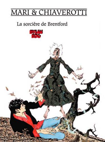 Couverture La sorcière de Bretford (Dylan Dog)