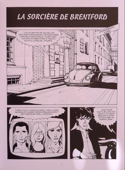Page 1 La sorcière de Bretford (Dylan Dog)