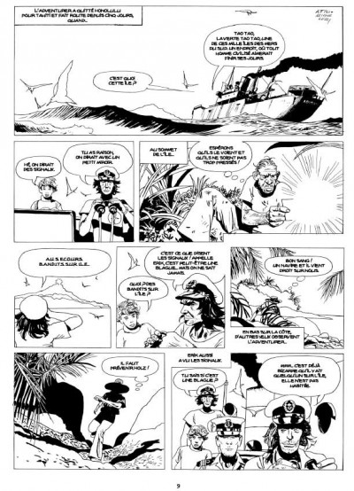 Page 1 Capitain Erik - L'idole africaine