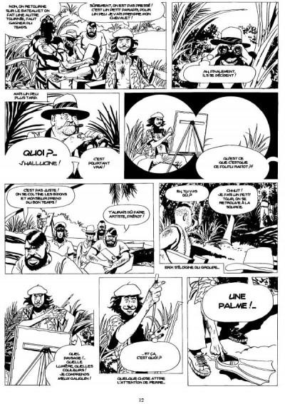 Page 4 Capitain Erik - L'idole africaine