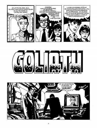 Page 8 Goliath (Dylan Dog)