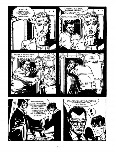 Page 9 Goliath (Dylan Dog)