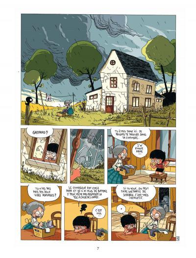 Page 6 Gaspard et le phylactère magique