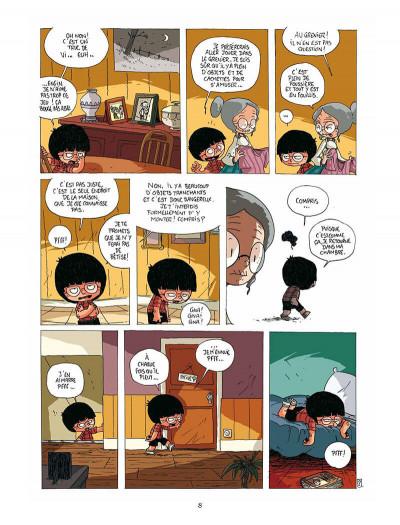 Page 7 Gaspard et le phylactère magique