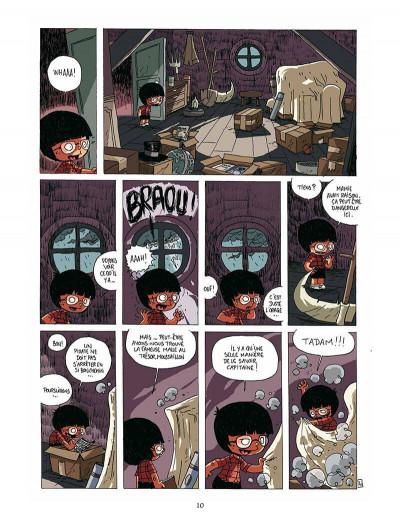 Page 9 Gaspard et le phylactère magique
