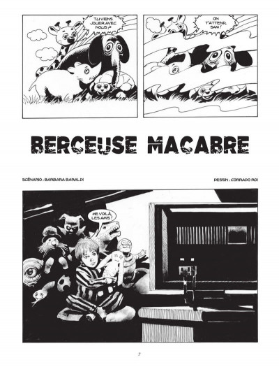 Page 6 Berceuse macabre (Dylan Dog)