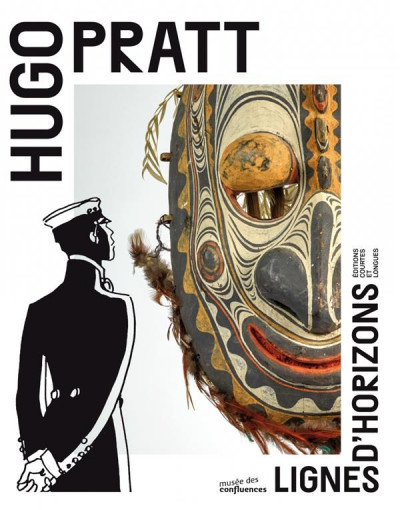 Couverture Hugo Pratt - Lignes d'horizons