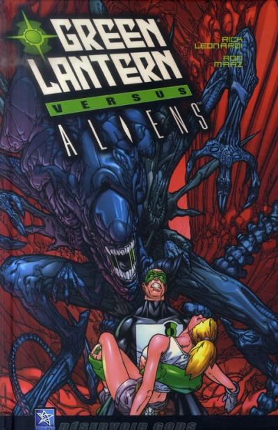 Couverture Green lantern VS aliens
