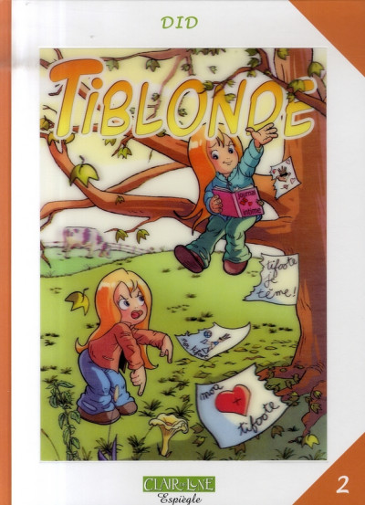 Couverture tiblonde tome 2