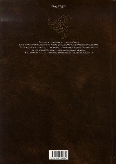 Dos la tour de kyla tome 1 - porte, monstre, trésor