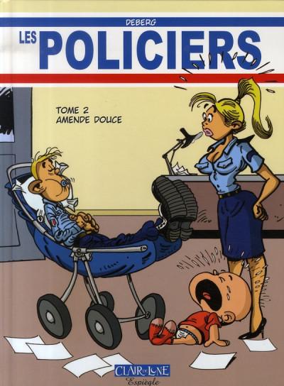 Couverture les policiers tome 2 - amende douce