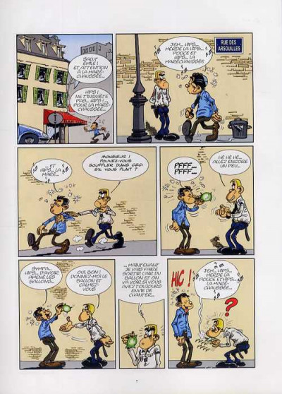 Page 1 les policiers tome 2 - amende douce