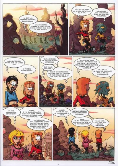 Page 3 les aventuriers du nhl 2987 survivaure tome 2 - le cycle des krygonites c.2