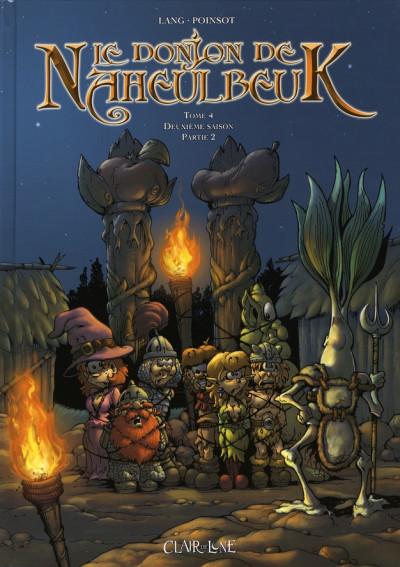 Couverture le donjon de naheulbeuk tome 4 - deuxième saison, partie 2