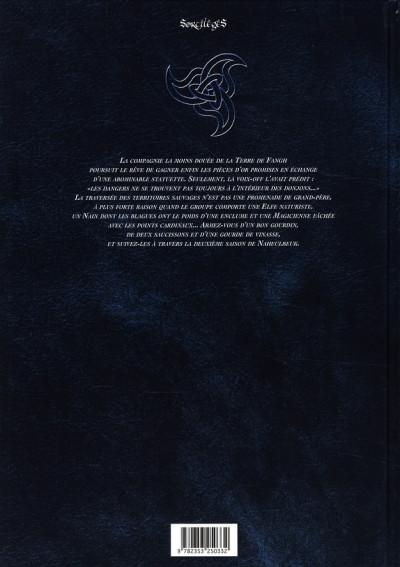 Dos le donjon de naheulbeuk tome 4 - deuxième saison, partie 2