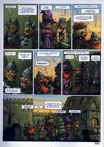 Page 2 le donjon de naheulbeuk tome 4 - deuxième saison, partie 2