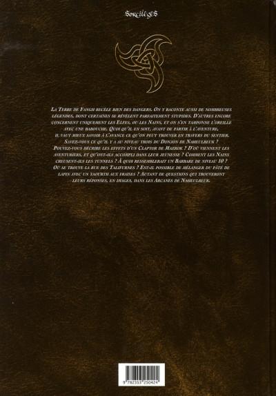 Dos les arcanes de naheulbeuk tome 1