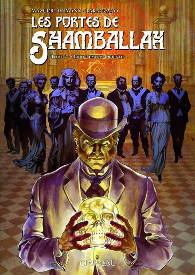 Couverture les portes de shamballah tome 2 - ordo templis or