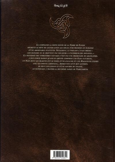 Dos le donjon de naheulbeuk tome 5 - deuxième saison, partie 3