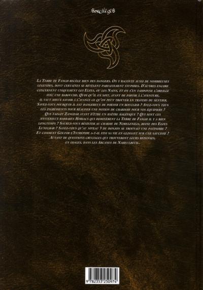 Dos les arcanes de naheulbeuk tome 2