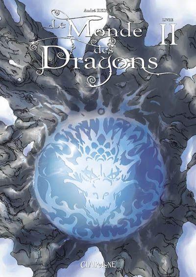 Couverture le monde des dragons tome 2