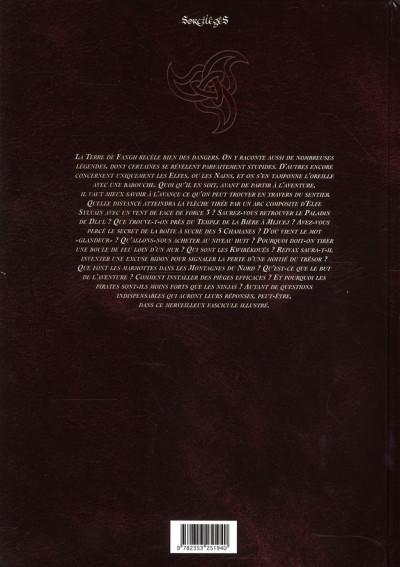 Dos les arcanes de naheulbeuk tome 3