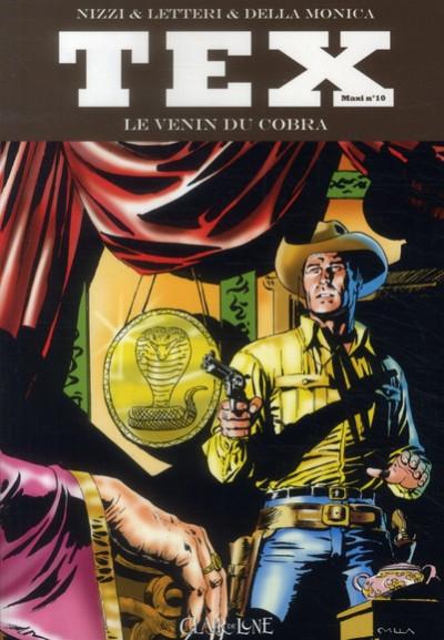 image de Tex - Maxi tome 10 Le venin du cobra
