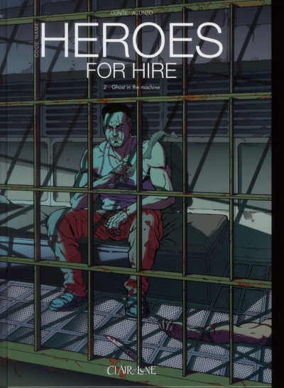 Couverture heroes for hire tome 2 - expresso love