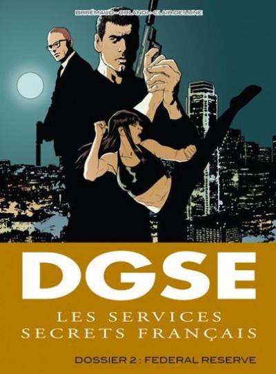 Couverture dgse service secret tome 2 - federal reser