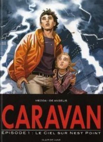 Couverture Caravan tome 1 - le ciel au dessus sur Nest point