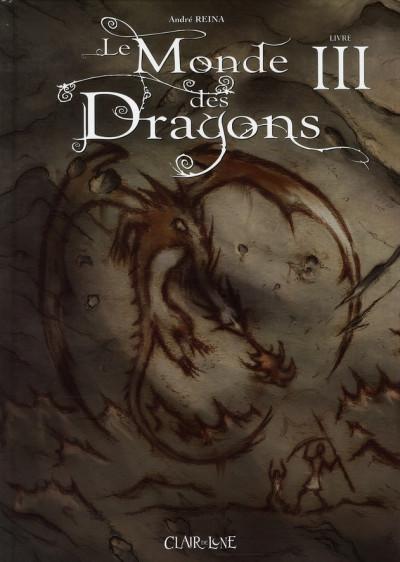 Couverture le monde des dragons tome 3