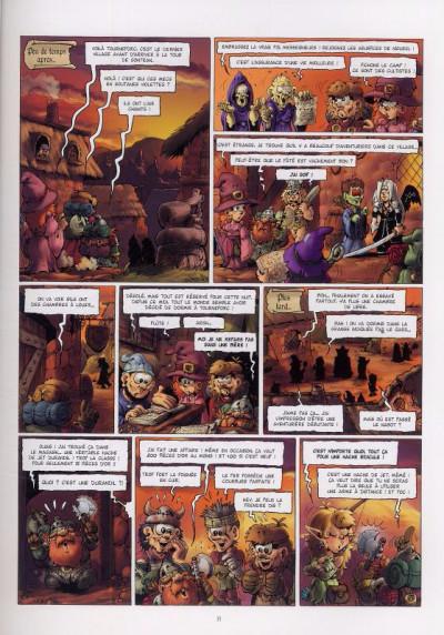 Page 1 le donjon de Naheulbeuk T.7 - troisième saison, partie 1