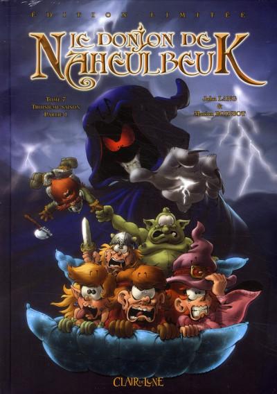Couverture le donjon de Naheulbeuk tome 7 - 3e saison, partie 1 - version collector