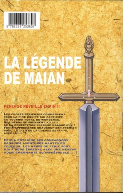 Dos la légende de Maian tome 6