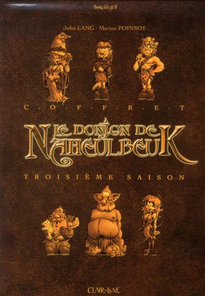 Couverture le donjon de Naheulbeuk - COFFRET VOL.3 - T.7 A T.9 - saison 3