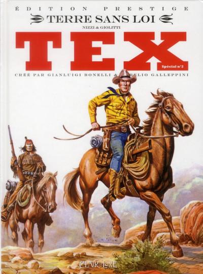 Couverture Tex spécial tome 2 - terre sans loi