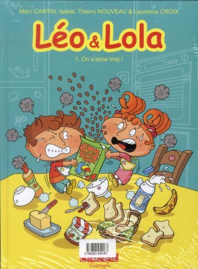 Dos Léo et Lola tome 8 - tous copains !