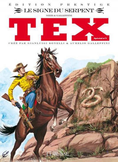 Couverture Tex spécial tome 3 - le signe du serpent