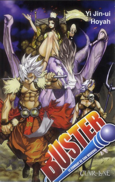 Couverture buster tome 3