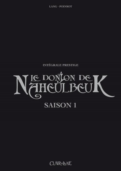 Couverture Le donjon de naheulbeuk - intégrale prestige saison 1