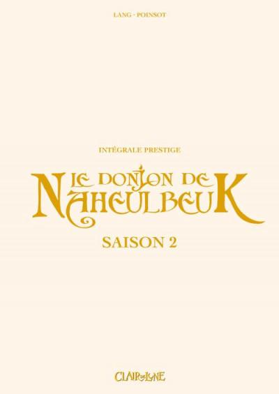 Couverture Le donjon de naheulbeuk - intégrale prestige saison 2