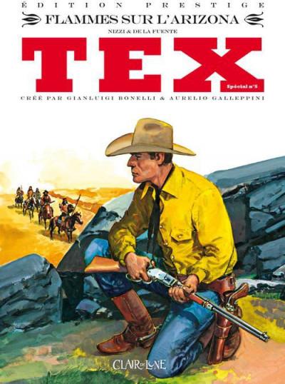 Couverture Tex spécial tome 5 - flammes sur l'Arizona
