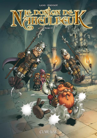 Couverture le donjon de Naheulbeuk tome 12