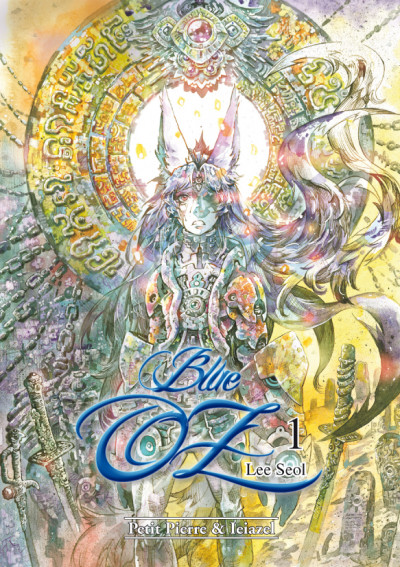 Couverture blue OZ tome 1