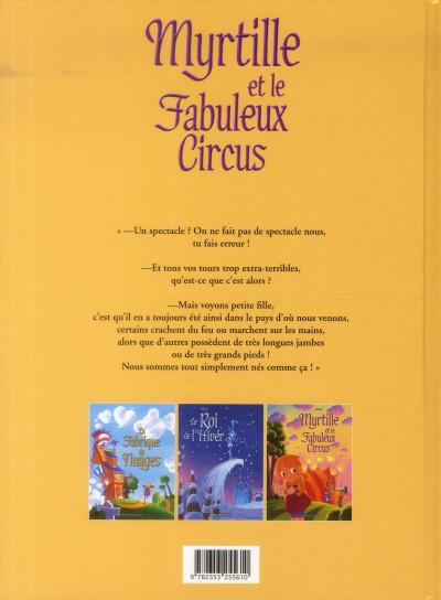 Dos myrtille et le fabuleux circus
