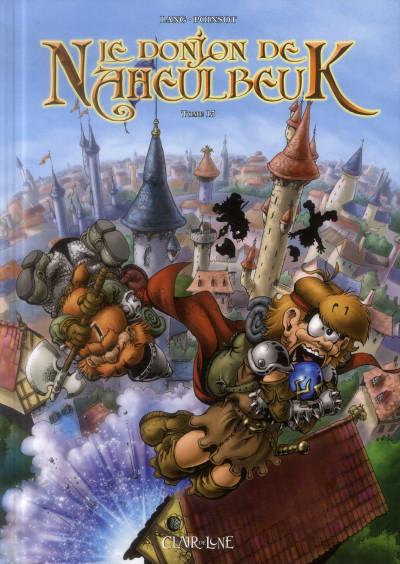 Couverture le donjon de Naheulbeuk tome 13