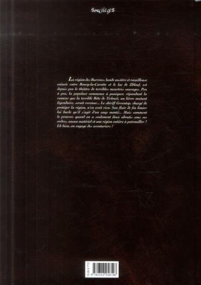 Dos La Malédiction de tirlouit tome 2
