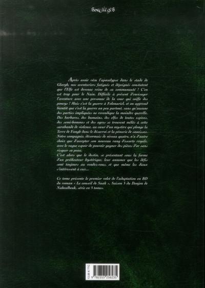 Dos Le donjon de Naheulbeuk tome 14