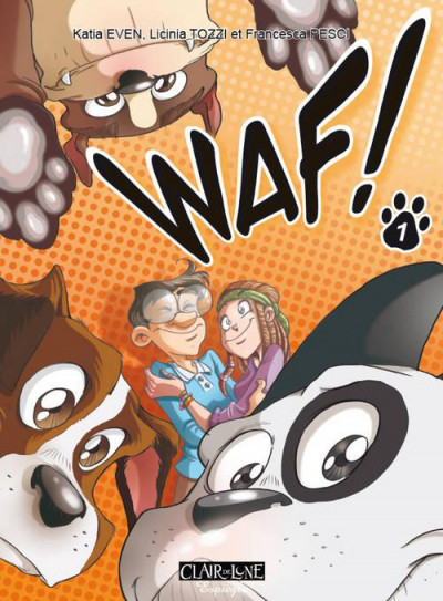 Couverture waf tome 1