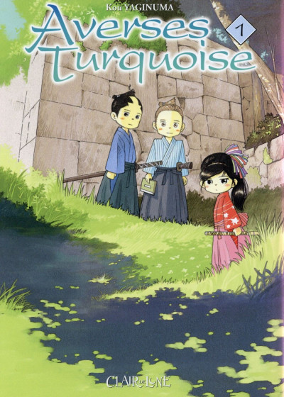 Couverture averses turquoises tome 1